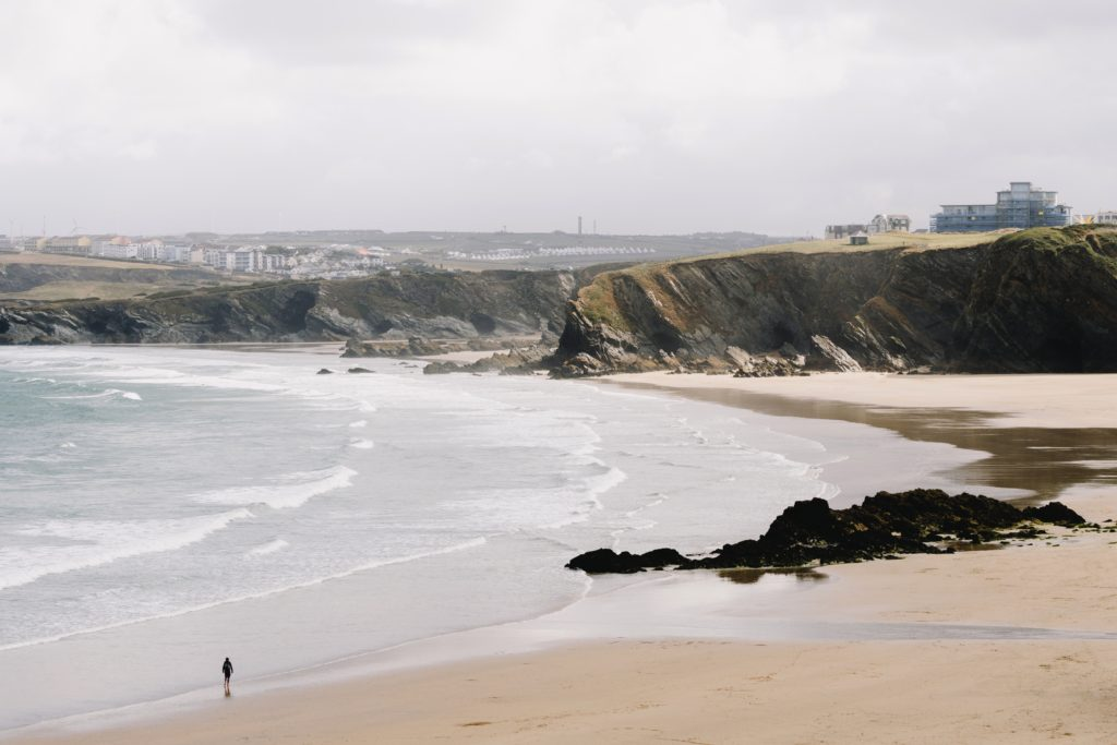 Creative inspiration - Cornish beach walk