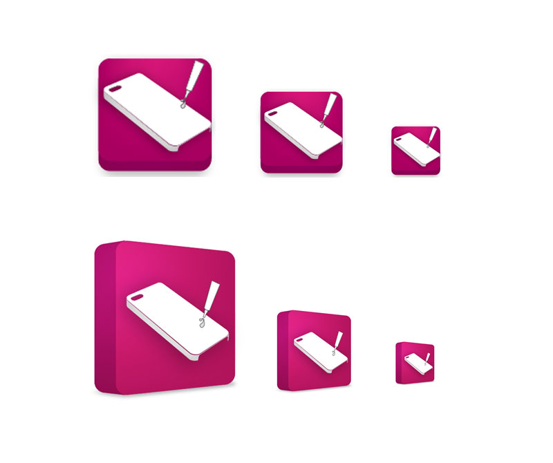Website application icons