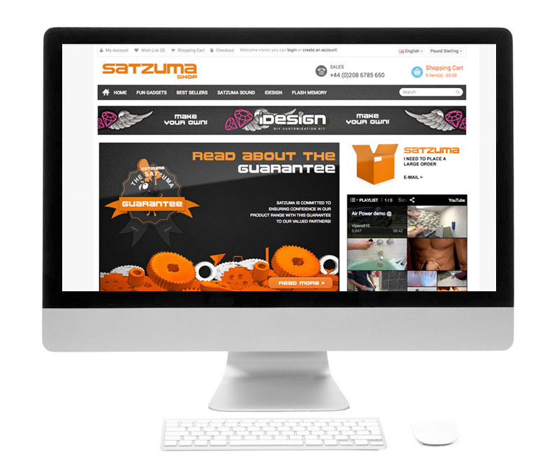 Snapshot of shopping cart of  website.