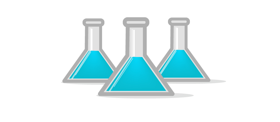 Test tube vector graphics from unity dev lab website