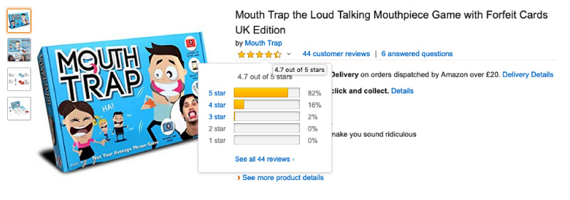 Mouth Trap Product review image