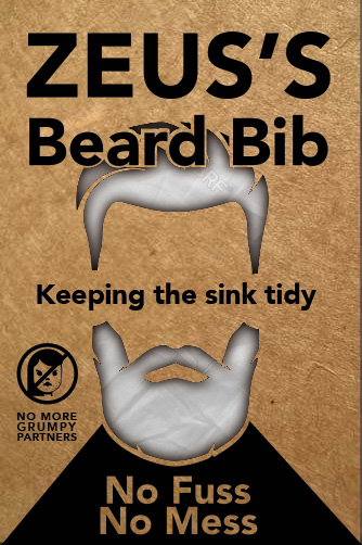Beard Bib Packaging