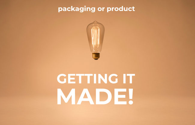 Getting your packaging made in China