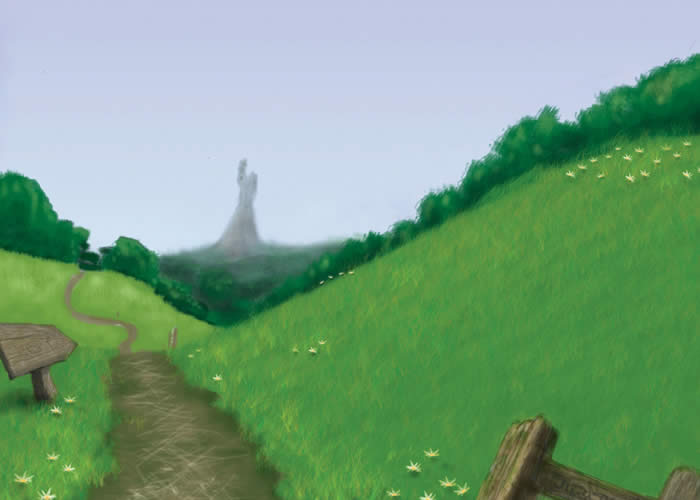 Field Background For e-learning game