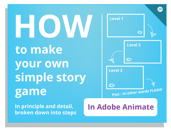 How to make an interactive story game in Adobe Animate
