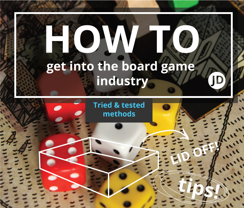 how to get into board game design industry - header
