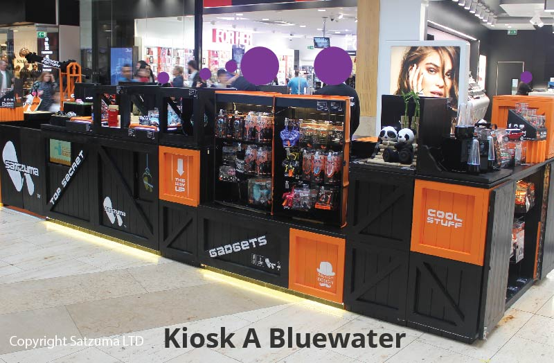 retail kiosk examples ideas