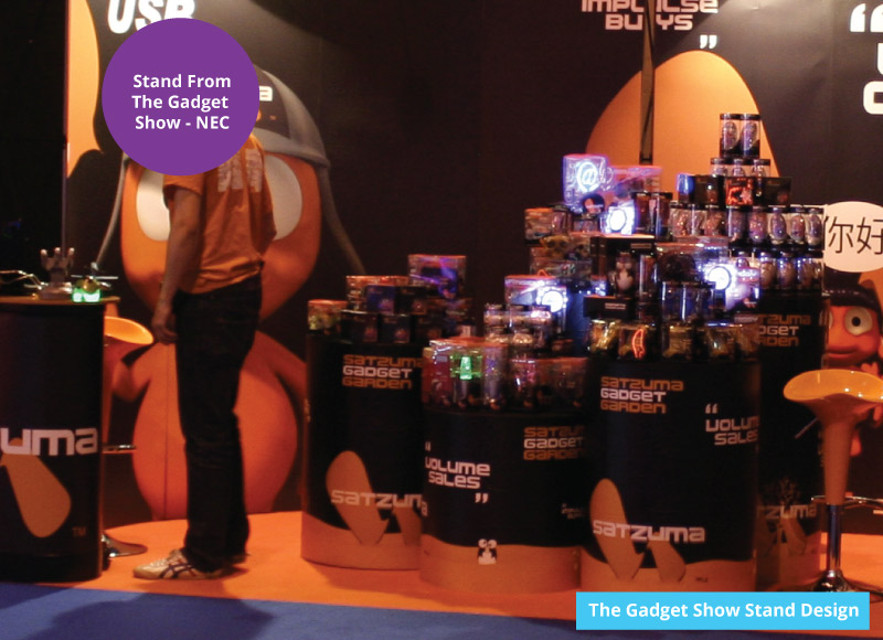 The gadget show live retail kiosk examples ideas